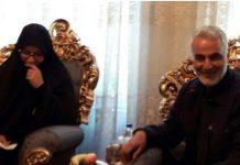الجنرال سليماني في منزل الشهيد حججي