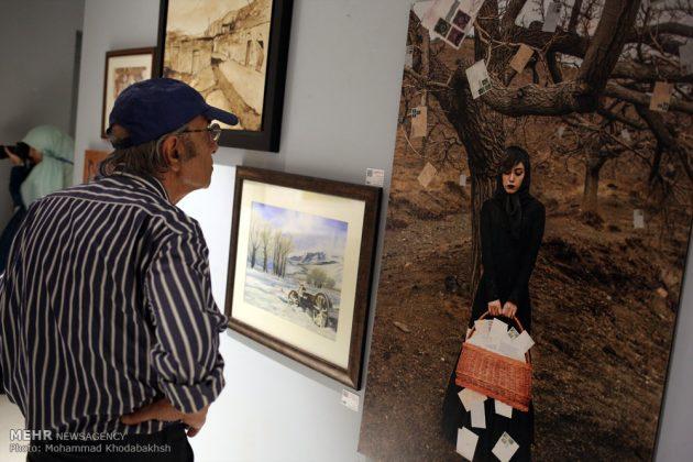 """معرض """"سوق الفن"""" في العاصمة طهران 14"""