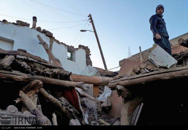 هزة ارضیة بقوة 4.9 درجات تضرب شمال غربی ایران14