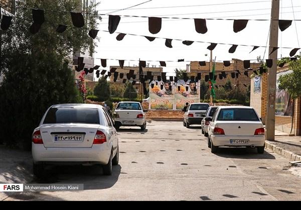 منزل وزوجة وابن الشهيد الشاب محسن حججي15