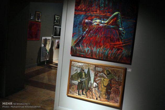 """معرض """"سوق الفن"""" في العاصمة طهران 16"""