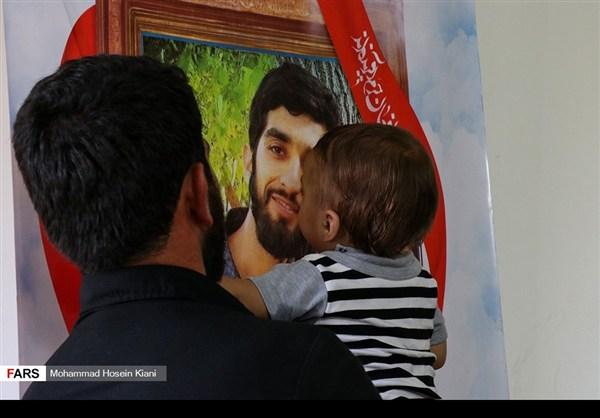 منزل وزوجة وابن الشهيد الشاب محسن حججي17