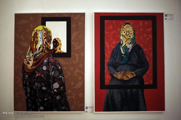 """معرض """"سوق الفن"""" في العاصمة طهران 17"""