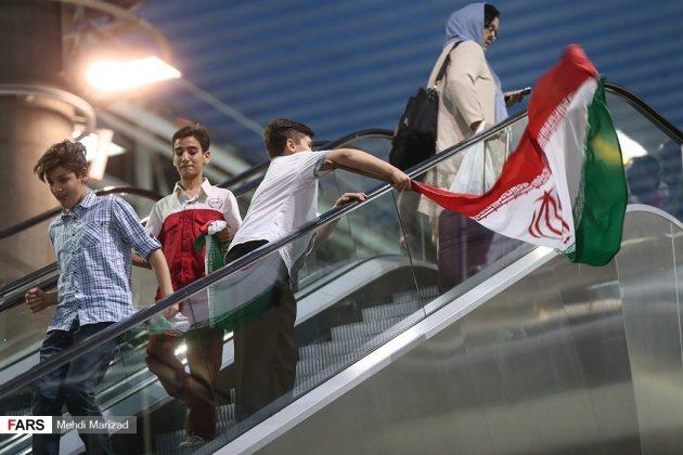 عودة منتخب ناشئة ايران بعد تتويجه ببطولة العالم للكرة الطائرة17