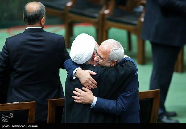 مراسيم أداء الرئيس روحاني اليم17
