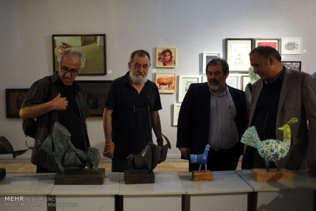 """معرض """"سوق الفن"""" في العاصمة طهران 18"""