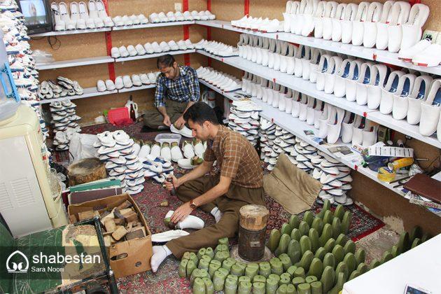""""""" كلاش """" حذاء تراثي في مريوان الايرانية 18"""