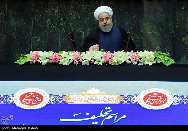مراسيم أداء الرئيس روحاني اليمين الدستورية18
