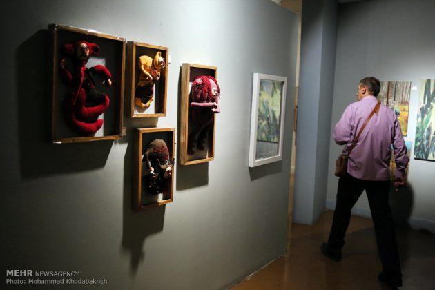 """معرض """"سوق الفن"""" في العاصمة طهران 19"""