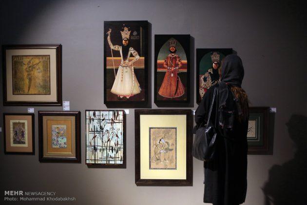 """معرض """"سوق الفن"""" في العاصمة طهران 2"""