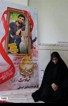 منزل وزوجة وابن الشهيد الشاب محسن حججي20