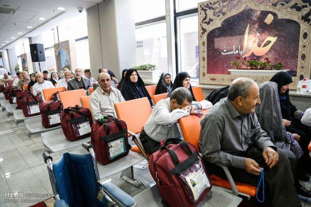 الحجاج الايرانيون يودعون وطنهم قاصدين اداء مناسك الحج 18