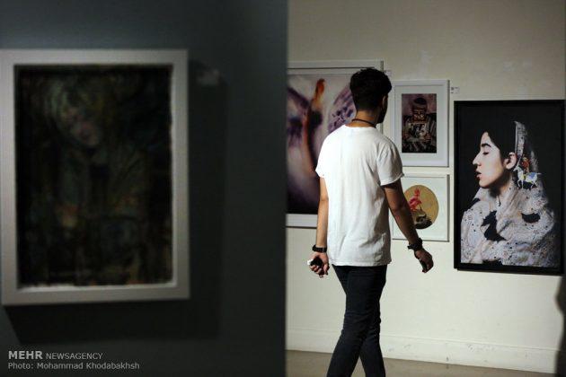 """معرض """"سوق الفن"""" في العاصمة طهران 22"""