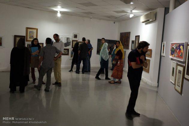 """معرض """"سوق الفن"""" في العاصمة طهران 23"""