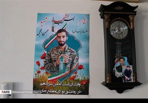 منزل وزوجة وابن الشهيد الشاب محسن حججي23