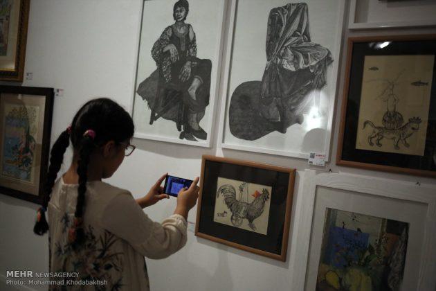 """معرض """"سوق الفن"""" في العاصمة طهران 24"""