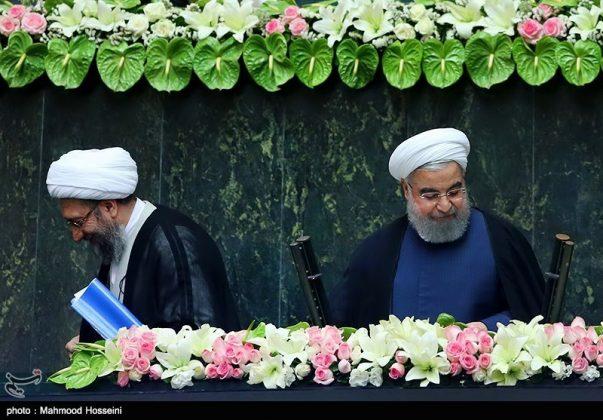 مراسيم أداء الرئيس روحاني اليمين الدستورية25