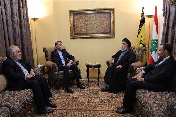 نصرالله يؤكد على دور القائد خامنئي في التصدي لمخططات الاعداء