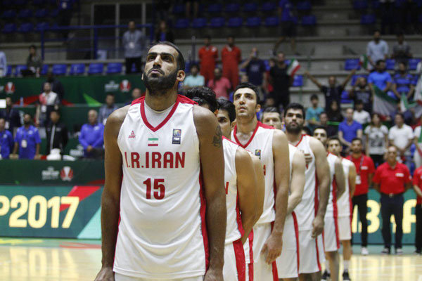 المنتخب الايراني يحرز وصافة بطولة امم اسيا لكرة السلة