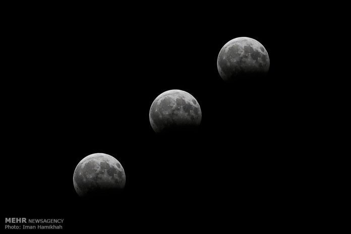 ظاهرة خسوف القمر في ايران3