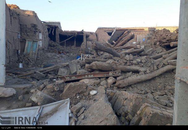 هزة ارضیة بقوة 4.9 درجات تضرب شمال غربی ایران3