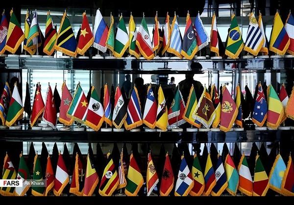 اكثر من مائة وفد اجنبي تشارك في اداء روحاني اليمين الدستورية2