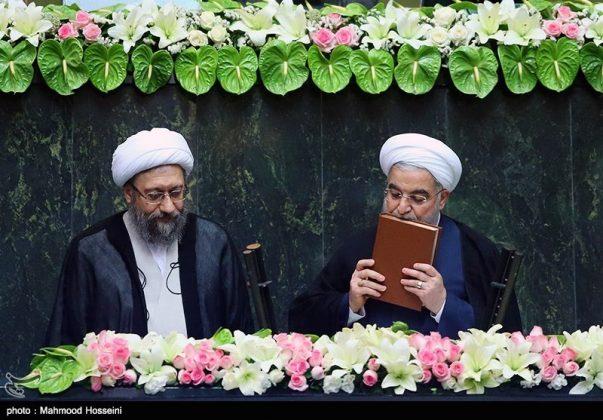مراسيم أداء الرئيس روحاني اليمين الدستورية33