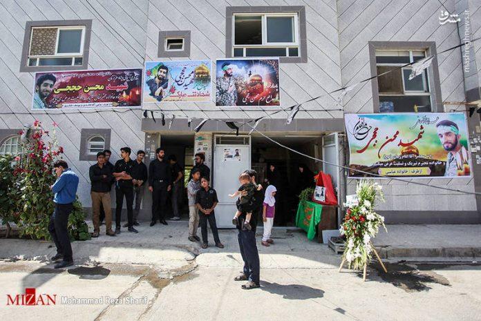 منزل وزوجة وابن الشهيد الشاب محسن حججي4