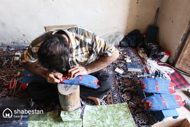 """"""" كلاش """" حذاء تراثي في مريوان الايرانية 4"""