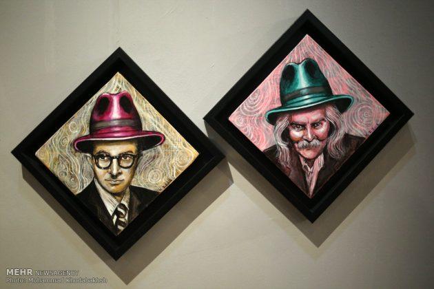 """معرض """"سوق الفن"""" في العاصمة طهران 4"""