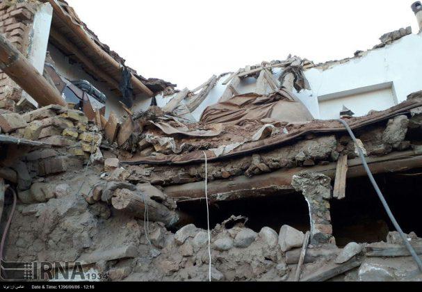 هزة ارضیة بقوة 4.9 درجات تضرب شمال غربی ایران4