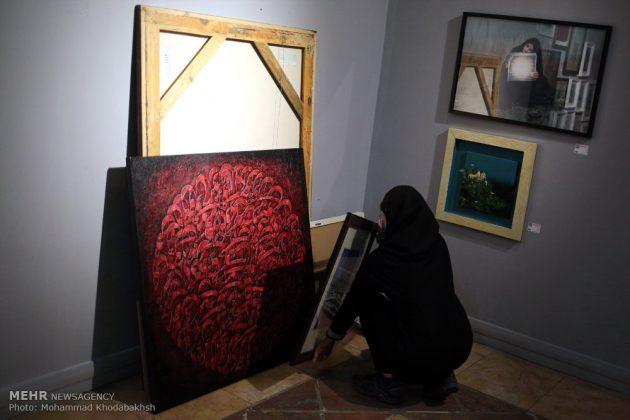 """معرض """"سوق الفن"""" في العاصمة طهران 5"""