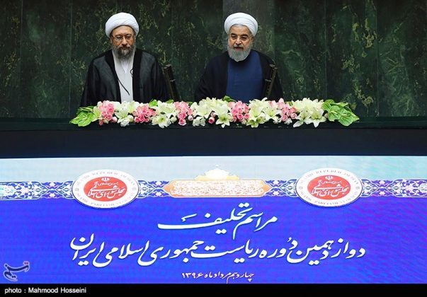مراسيم أداء الرئيس روحاني اليمين الدستورية5