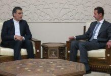 مساعد وزير الخارجية الايراني والرئيس السوري يبحثان اخر التطورات في سوريا