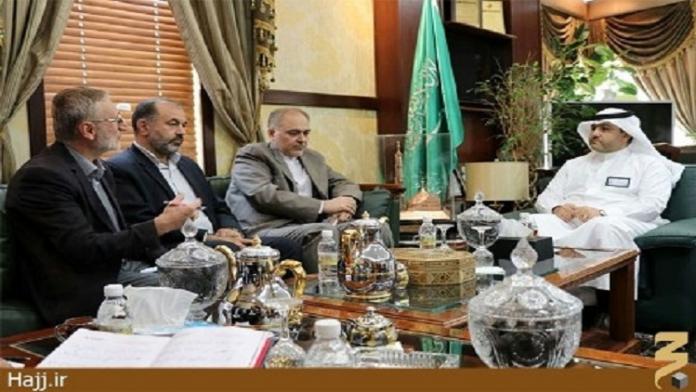 الوفد القنصلي الايراني يلتقي مساعد وزير الحج السعودي