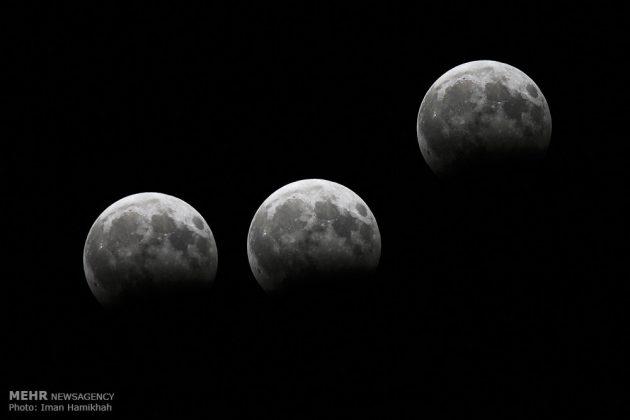ظاهرة خسوف القمر في ايران6