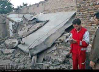 هزة ارضیة بقوة 4.9 درجات تضرب شمال غربی ایران6