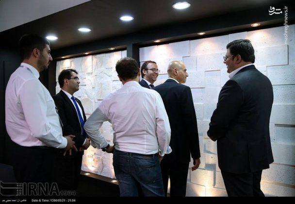 المعرض الدولي لصناعة الأبنية في طهران7