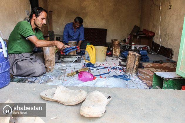 """"""" كلاش """" حذاء تراثي في مريوان الايرانية 7"""
