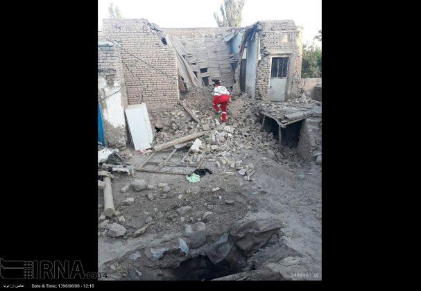 هزة ارضیة بقوة 4.9 درجات تضرب شمال غربی ایران7
