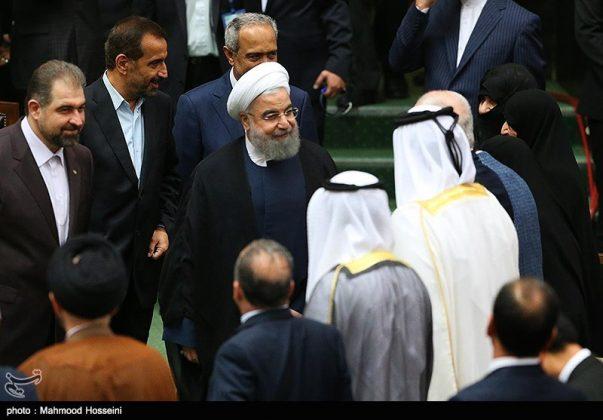 مراسيم أداء الرئيس روحاني اليمين الدستورية7