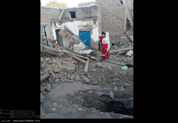 هزة ارضیة بقوة 4.9 درجات تضرب شمال غربی ایران8