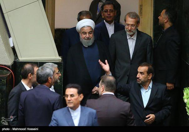 مراسيم أداء الرئيس روحاني اليمين 8