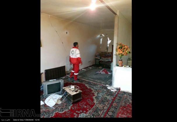 هزة ارضیة بقوة 4.9 درجات تضرب شمال غربی ایران9
