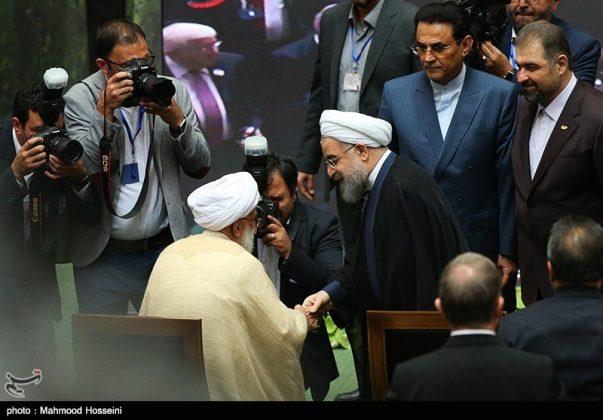 مراسيم أداء الرئيس روحاني اليمين الدستورية9