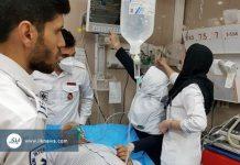 362 حالة تسمم جراء تسرب غاز الكلور بجنوب غرب ايران
