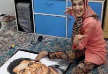Disabled Girl Acclaimed for Painting Ronaldo's Portrait with Her Feet