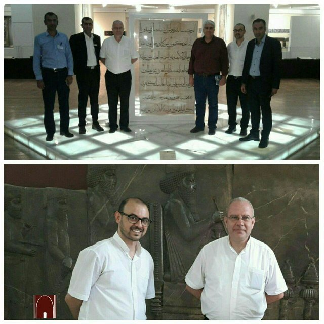 Foreign Dignitaries Visit Tehran's Museums1