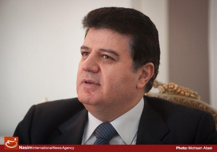السفير السوري لدى طهران يعزي بأستشهاد محسن حججي