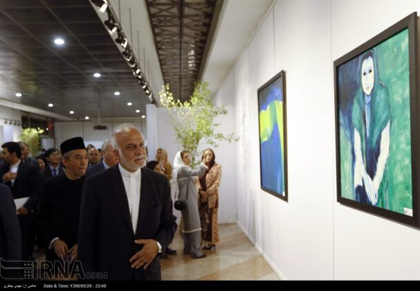 Indonesia Independence Anniversary Marked in Tehran's Milad Tower4